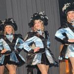 Die Damengarde der Karnevalsgesellschaft Rüthen zeigte letztmalig einen Gardetanz, in der neuen Session übernimmt dies die Juniorengarde. Mit ihrem neuen Showtanz werden die Damen aber auch im nächsten Jahr wieder zu sehen sein.