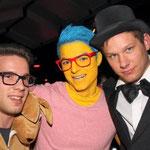 Bunt kostümiert zeigten die Narren bei ihren Karneval-Outfits viel Einfallsreichtum und kamen teils schrill daher.