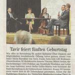 Schwäbische Zeitung 30.06.2012