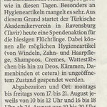 Schwäbische Zeitung 17.08.2015