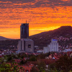 Sonnenaufgang Jena