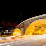 Der Lobdeburgtunnel bei Lobeda