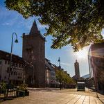 Das Johannistor gehört auch zur alten Stadtbefestigung von Jena