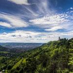 """Der Fuchsturm gehört zu den """"Sieben Wundern von Jena"""" und Steht auf dem Hausberg"""