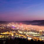 Jena im Nebel