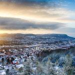 Jena an einem Wintermorgen
