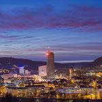 Die Jena Skyline vom Hausberg aus