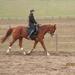 März 2013; Training am Platz