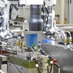 Detail Linearroboter, Kamerasystem