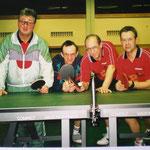 Meistermannschaft - Kern, Gerald, Günter Jähnert und Schmid