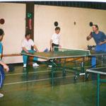 Training in der Römerhalle