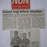 NÖN Bericht über 9. Ranglistenturnier 8.10.2000 in der Römerhalle