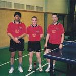 Gerhard Koberger, Oliver Njari und Michael Schmid