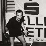 der ehemalige Obmann beim Training - wahrscheinlich 1984
