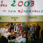 Faschingsturnier 2003