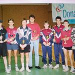 Ranglistenturnier im Gymnasium 29.9.1996