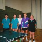 Meisterschaft in St. Andrä-Wördern - Gerhard Koberger, Michael Schmid, Wolfgang und Karl Limberger, Hans Kraft