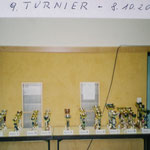 9. Ranglistenturnier 8.10.2000 in der Römerhalle