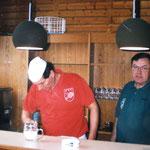 Ranglistenturnier in Zeiselmauer 21.2.1999 - im Buffet