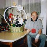 Eines unserer ältesten Mitglieder beim 90. Geburtstag - Ernst Stockinger - auch Schwager genannt