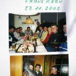 50er Feier von unserem Mitglied Franz Kern