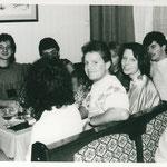 Weihnachtsfeier in den 80er Jahren