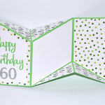 Geburtstagskarte zum 60