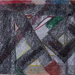 Nr.:-S 12: Variation in Schwarz, Pastell, A 4, Papier