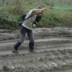 Olé! Surf dans la boue