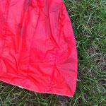 Schirm nach der Reparatur