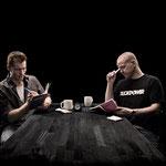 Comedians Anders Matthesen & Thomas Hartmann