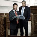 CEO Saxobank Kim Fournais & Lars Seier Christensen