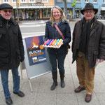 v. l. n. r.: Klaus Plonka, Kerstin Radomski, Walter Spiegelhoff