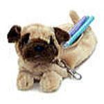 子犬のペンシルケース パグ