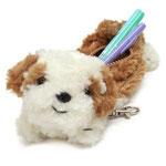 子犬のペンケース シーズー