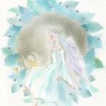 ブルーリースと星の羽根