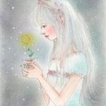 三日月の花