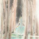 三日月の森