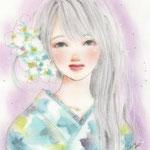 薄青い夏と花と君