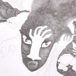 GHANA 2 | Bleistift auf Papier | 2012 | 29,6 x 20,5 cm | Foto (c) Rudolf Schmied