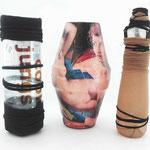 KunstARTIKEL | Upcycling-Vasen Keramik-Collage | 2010, 2012