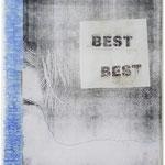 KunstBEGEGNUNG | Best | Kugelschreiber Kopie Leinwand | 2019 | 30x24
