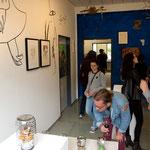 MEINE WELT-RAUM | Wandzeichnungen, Bilder, Objekte | Transform-Arte 2017