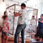 KUNSTpoint(e) - entWICKLEverSTRICKt | SpielRUNDE Werkstatt Babsi Daum 2019 | Wien