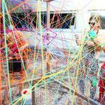 KUNSTpoint(e) - entWICKLEverSTRICKt | SpielRUNDE Transform-Arte 2019 | Eisenstadt| Foto: Sabine Jandl-Jobst