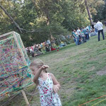 KUNSTpoint(e) - entWICKLEverSTRICKt | Prechody 2018, Gmünd | während des Festivals | Foto: Tatjana Zinner