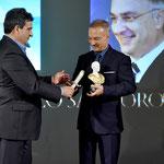 Lecce (Italia), 30 giugno 2018. Grand Hotel President, Sala Apulia. Momento della premiazione. (ItalPhoto  Mesagne)