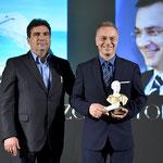 Lecce (Italia), 30 giugno 2018. Grand Hotel President, Sala Apulia. Foto ricordo della premiazione con il Dr. Michele Miulli, Presidente del Comitato d'Onore. (ItalPhoto  Mesagne)