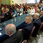 Lecce (Italia), 30 giugno 2018. Grand Hotel President, Sala Apulia. La postazione del Comitato d'Onore nella Sala Apulia del President. (ItalPhoto  Mesagne)