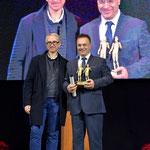 """16 dicembre 2017. Lecce, Antico e Monumentale Teatro """"G. Paisiello"""". Momento della premiazione. (ItalPhoto Mesagne)."""